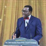 The Sunhak Peace Prize for 2019 Convened in Seoul Awarding Akinwumi Ayodeji Adesina & Waris Dirie